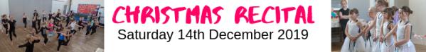 React dance christmas showcase