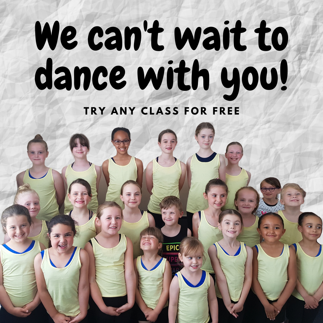 We can't wait to dance with you!